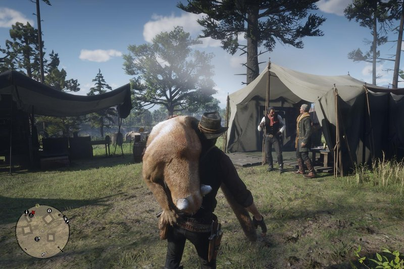 red dead 2 cougar hunt